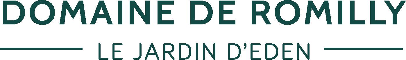 logo_domaine romilly_jardin eden_gite_normandie